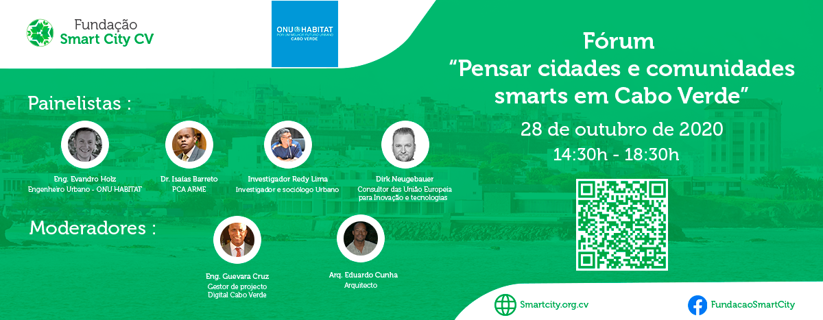 """Forum """"Thinking Smart Cities and Communities in Cape Verde"""""""